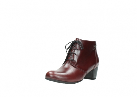 wolky ankle boots 03751 ball 20510 bordeaux leather_22