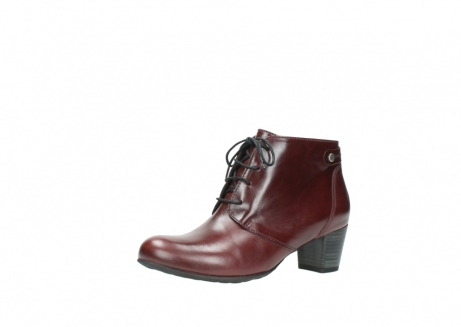 wolky ankle boots 03751 ball 20510 bordeaux leather_23