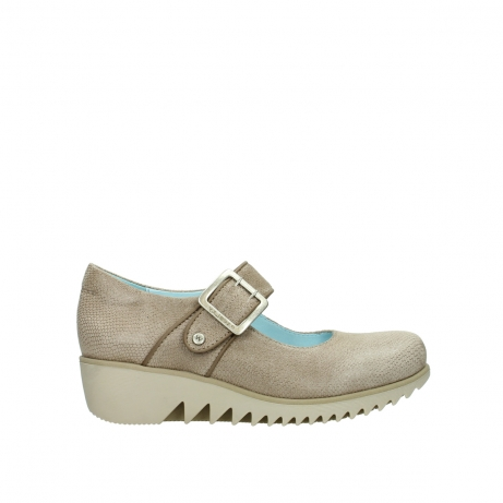 wolky riemchenschuhe 03811 silky 20150 taupe leder