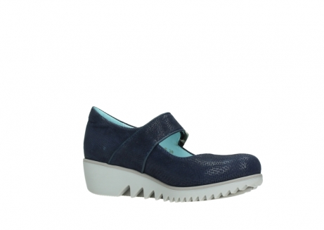 wolky chaussures a bride 03811 silky 20800 cuir bleu_15
