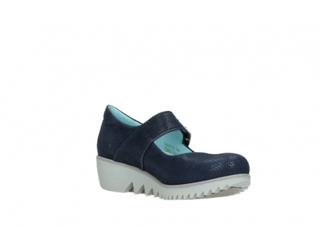 wolky chaussures a bride 03811 silky 20800 cuir bleu_16