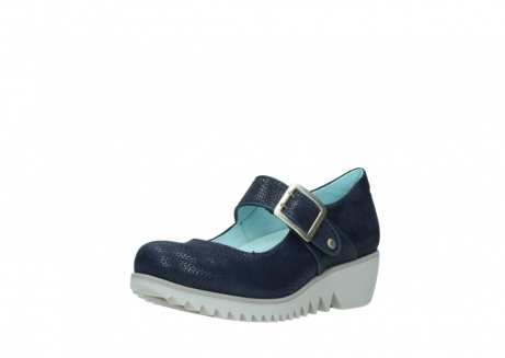 wolky chaussures a bride 03811 silky 20800 cuir bleu_22