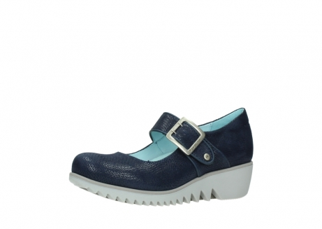 wolky chaussures a bride 03811 silky 20800 cuir bleu_23