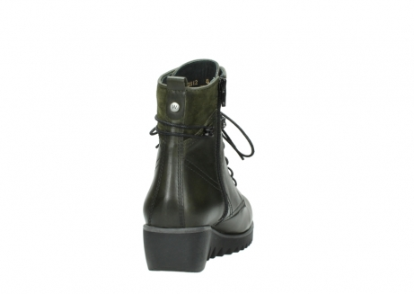 wolky boots 03812 rusty 20730 forest grun leder_8