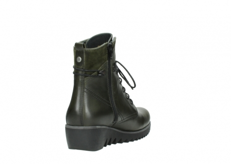 wolky boots 03812 rusty 20730 forest grun leder_9