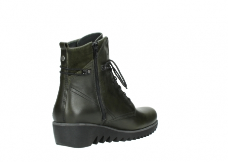 wolky boots 03812 rusty 20730 forest grun leder_10