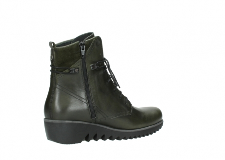 wolky boots 03812 rusty 20730 forest grun leder_11