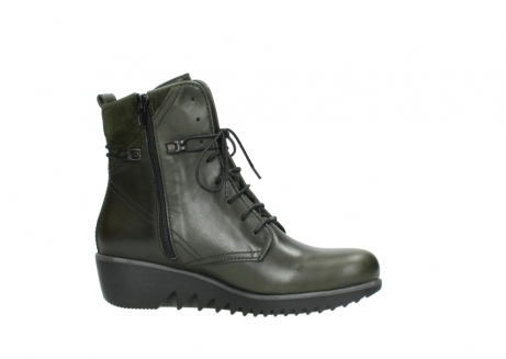 wolky lace up boots 03812 rusty 20730 forest green leather_14