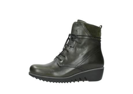 wolky lace up boots 03812 rusty 20730 forest green leather_24