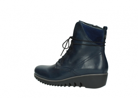 wolky bottines a lacets 03812 rusty 20800 cuir bleu_3