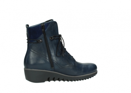 wolky bottines a lacets 03812 rusty 20800 cuir bleu_12