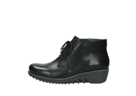 wolky lace up boots 03818 dusky winter 20000 black leather_1