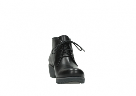 wolky lace up boots 03818 dusky winter 20000 black leather_18