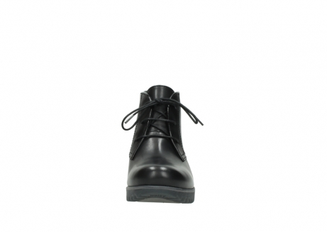 wolky lace up boots 03818 dusky winter 20000 black leather_19
