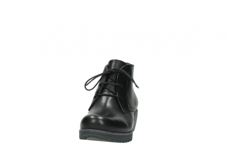 wolky lace up boots 03818 dusky winter 20000 black leather_20