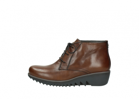 wolky lace up boots 03818 dusky winter 20430 cognac leather_1