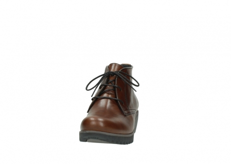 wolky lace up boots 03818 dusky winter 20430 cognac leather_20