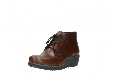 wolky lace up boots 03818 dusky winter 20430 cognac leather_22