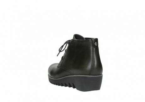wolky lace up boots 03818 dusky winter 20730 forest green leather_5