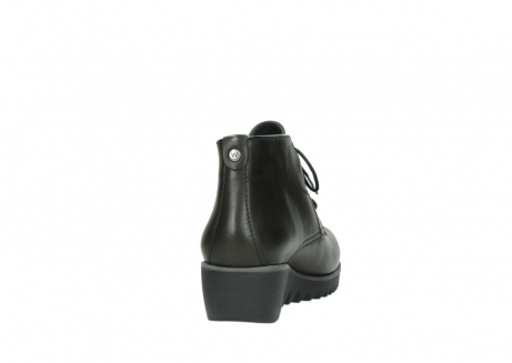 wolky lace up boots 03818 dusky winter 20730 forest green leather_8