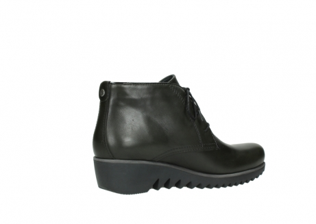 wolky lace up boots 03818 dusky winter 20730 forest green leather_11