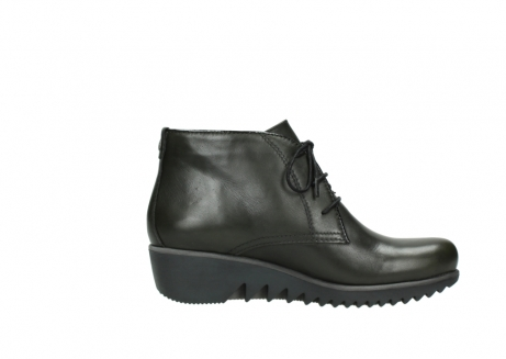 wolky lace up boots 03818 dusky winter 20730 forest green leather_13