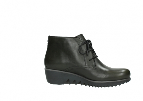 wolky lace up boots 03818 dusky winter 20730 forest green leather_14