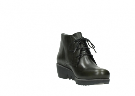 wolky lace up boots 03818 dusky winter 20730 forest green leather_17