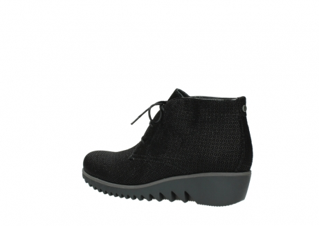 wolky lace up boots 03818 dusky winter 90003 black printed suede_3