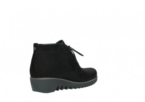 wolky lace up boots 03818 dusky winter 90003 black printed suede_10