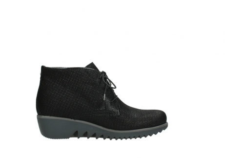 wolky lace up boots 03818 dusky winter 90003 black printed suede_13