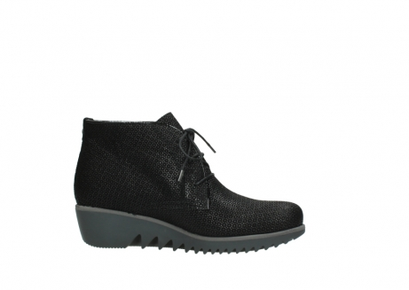 wolky lace up boots 03818 dusky winter 90003 black printed suede_14