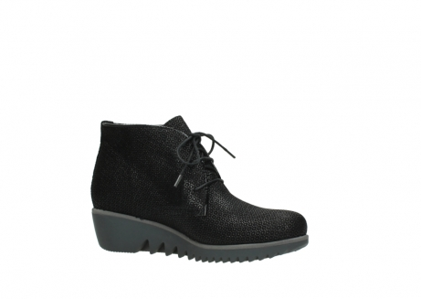 wolky lace up boots 03818 dusky winter 90003 black printed suede_15