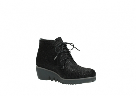 wolky lace up boots 03818 dusky winter 90003 black printed suede_16