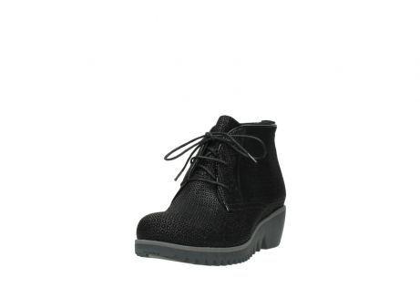 wolky lace up boots 03818 dusky winter 90003 black printed suede_21