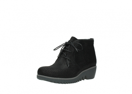 wolky lace up boots 03818 dusky winter 90003 black printed suede_22