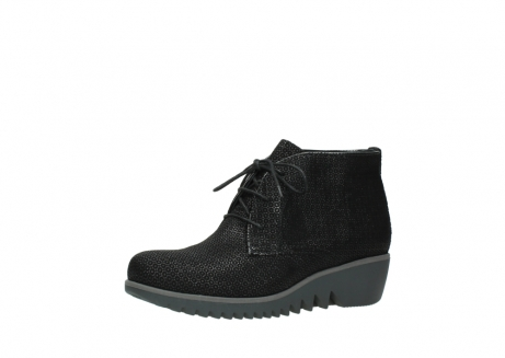 wolky lace up boots 03818 dusky winter 90003 black printed suede_23