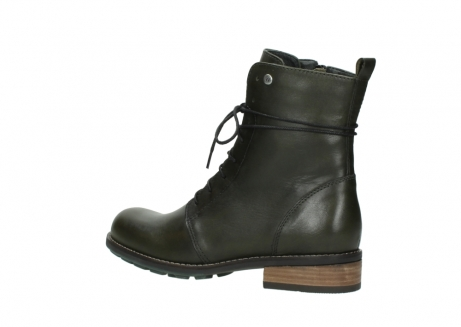 wolky mid calf boots 04438 murray cw 20730 forest green leather cold winter warm lining_3