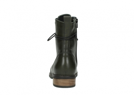 wolky mid calf boots 04438 murray cw 20730 forest green leather cold winter warm lining_7