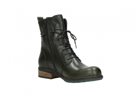 wolky mid calf boots 04438 murray cw 20730 forest green leather cold winter warm lining_16