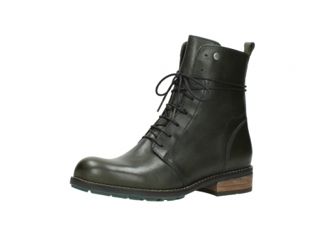 wolky mid calf boots 04438 murray cw 20730 forest green leather cold winter warm lining_23