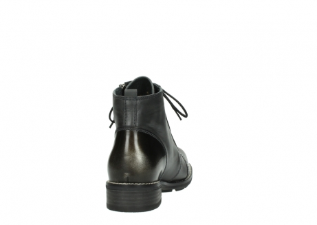wolky bottines a lacets 04440 millstream 39210 cuir anthracite_8