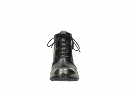 wolky bottines a lacets 04440 millstream 39210 cuir anthracite_19