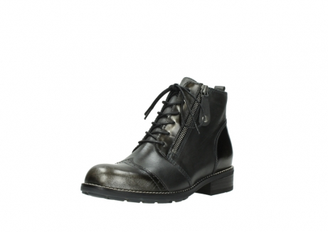wolky bottines a lacets 04440 millstream 39210 cuir anthracite_22
