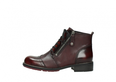 wolky lace up boots 04440 millstream 39510 burgundy combi leather_1