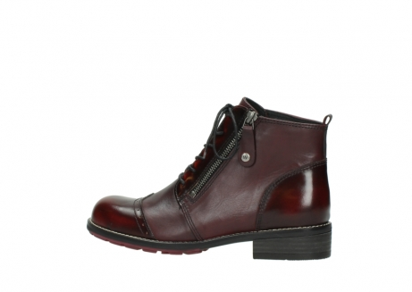 wolky lace up boots 04440 millstream 39510 burgundy combi leather_2