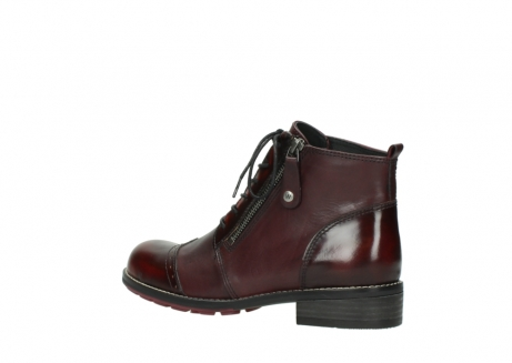 wolky lace up boots 04440 millstream 39510 burgundy combi leather_3