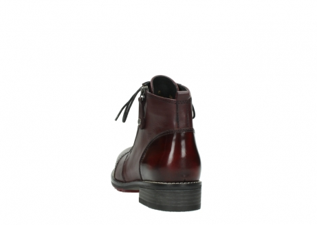 wolky lace up boots 04440 millstream 39510 burgundy combi leather_6