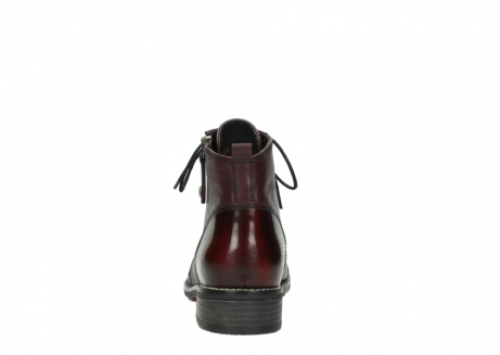 wolky lace up boots 04440 millstream 39510 burgundy combi leather_7
