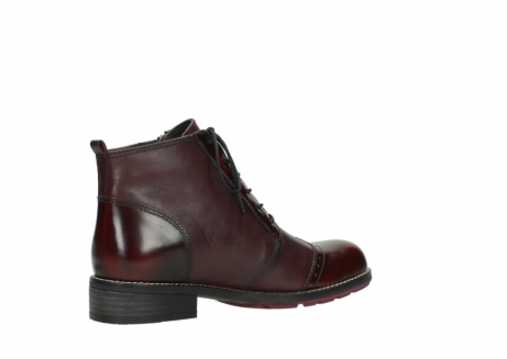 wolky lace up boots 04440 millstream 39510 burgundy combi leather_11